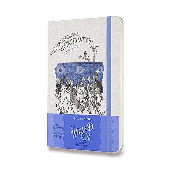Obrázek produktu Zápisník Moleskine Wizard Of Oz  - tvrdé desky - L, čistý, modrý