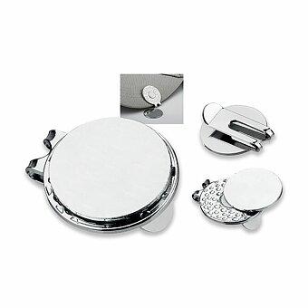 Obrázek produktu GOLFER - kovový klip na kšiltovku s markovátkem, chrom