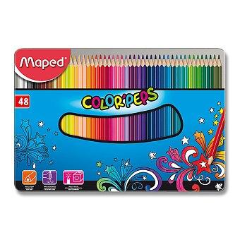 Obrázek produktu Pastelky Maped Color'Peps Metal Box - 48 barev