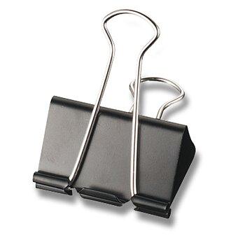 Obrázek produktu Vázací klipy Maped - černé - 12 ks, krabička