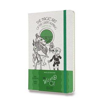 Obrázek produktu Zápisník Moleskine Wizard Of Oz  - tvrdé desky - L, linkovaný, zelený