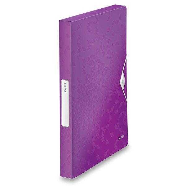 Box na dokumenty Wow - A4 fialový
