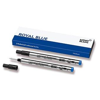 Obrázek produktu Náplň Montblanc do rolleru LeGrand - M, 2 ks, modrá
