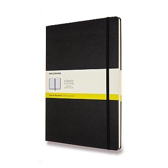 Obrázek produktu Zápisník Moleskine - tvrdé desky - A4, čtverečkovaný, černý