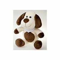 SCOOBY - plyšový pes, bílá