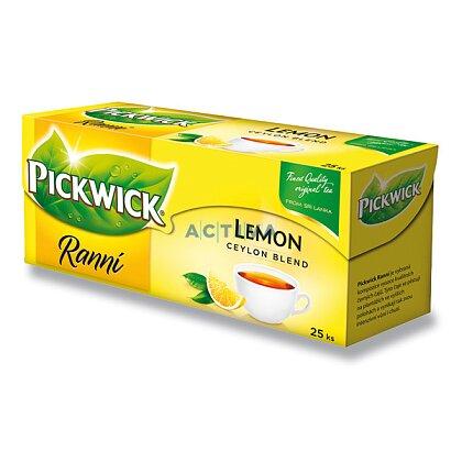 Obrázek produktu Pickwick - černý čaj - Ranní s citronem
