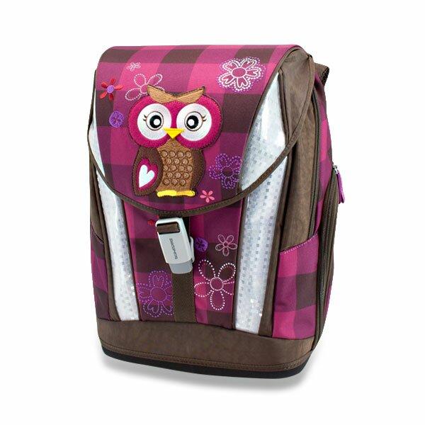 Aktovka Schneiders Soft The Owl Olivia s příslušenstvím 71275d4e2d