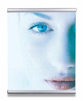 Obrázek produktu Hliníkový set pro zavěšení plakátu Poster Snapper - pro A4