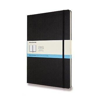 Obrázek produktu Zápisník Moleskine - tvrdé desky - A4, tečkovaný, černý