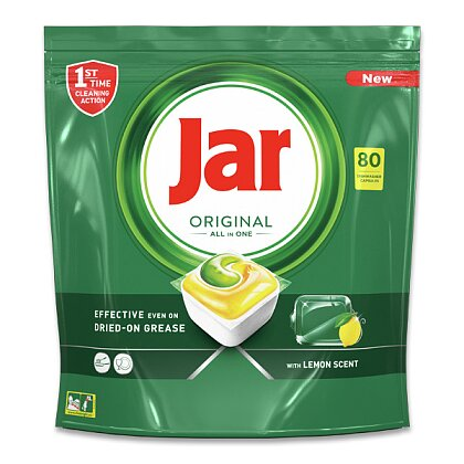 Obrázek produktu Jar Original All in One - kapsle do myčky - 80 kapslí