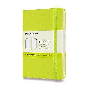 Obrázek produktu Zápisník Moleskine - tvrdé desky - S, čistý, limetka