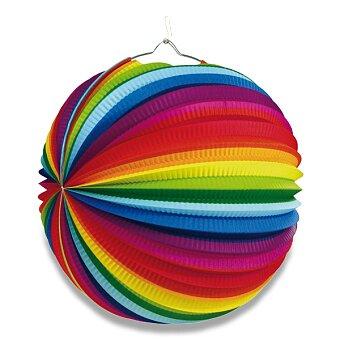 Papírový lampion Rainbow