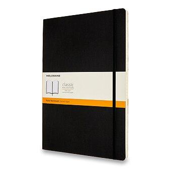 Obrázek produktu Zápisník Moleskine - měkké desky - A4, linkovaný, černý