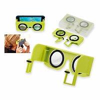 OCULARS - plastové virtuální brýle VR v krabičce, světle zelená