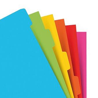 Obrázek produktu Krajové výřezy, barevné - náplň A5 diářů Filofax
