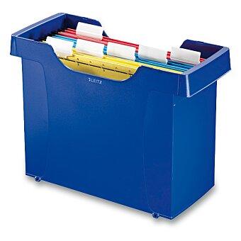 Obrázek produktu Stolní zásobník na závěsné desky Leitz Plus - modrý