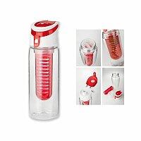 INFUSER - plastová sportovní láhev s infuzérem, 700 ml, výběr barev