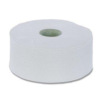 Obrázek produktu Toaletní papír recykl - 2 - vrstvý, průměr 23 cm, návin 210 m, 6 ks
