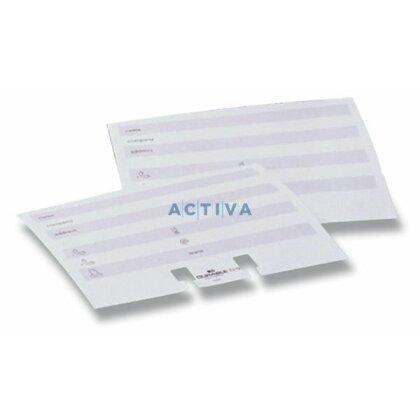 Obrázek produktu Durable Telindex - náhradní karty do vizitkáře