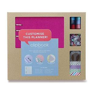 Blok s doplňky Filofax Clipbook Kit Pastel A5