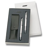 Lamy Logo Brushed Steel