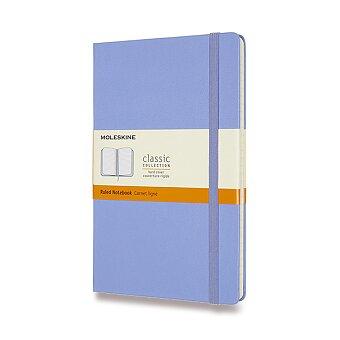 Obrázek produktu Zápisník Moleskine - tvrdé desky - L, linkovaný, nebesky modrý
