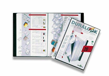 Obrázek produktu Katalogová kniha Durable DuraLook - A4, 20 folií, černá