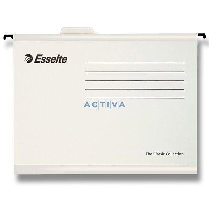 Obrázek produktu Esselte Classic - závěsné zakládací desky A4 - bílé, 25 ks