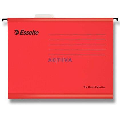 Obrázek produktu Esselte Classic - závěsné zakládací desky A4 - červené, 25 ks
