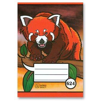 Obrázek produktu Školní sešit Junior 624 - A6, linkovaný, 20 listů