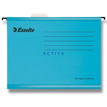 Obrázek produktu Esselte Classic - závěsné zakládací desky A4 - modré, 25 ks