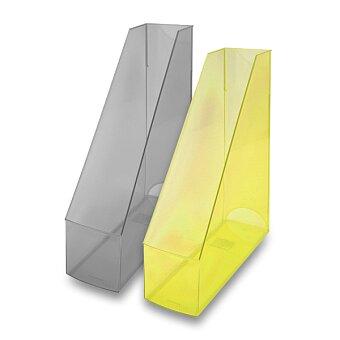Obrázek produktu Stojan na katalogy Economy Transparent - výběr barev
