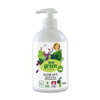 Obrázek produktu Zelené mytí Real green clean na nádobí, ovoce, ruce - 500 g