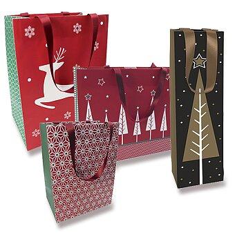 Obrázek produktu Dárková taška Christmas Traditional Chic - různé rozměry