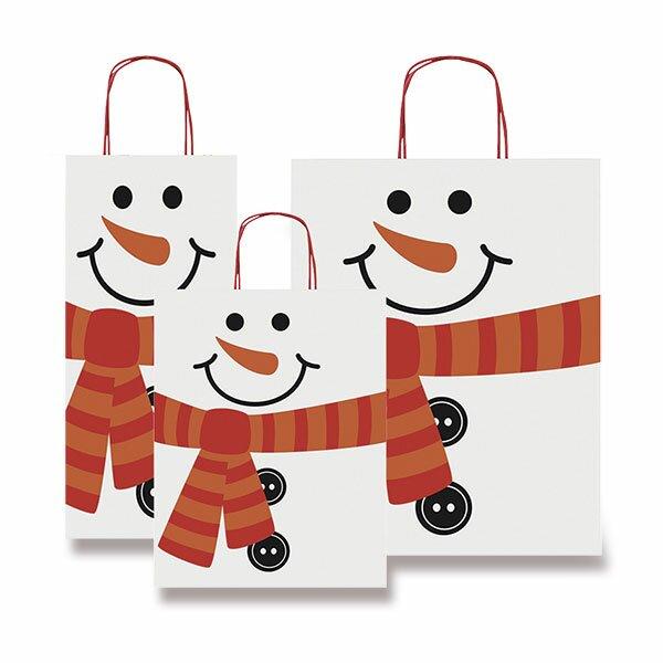Dárková taška sněhulák