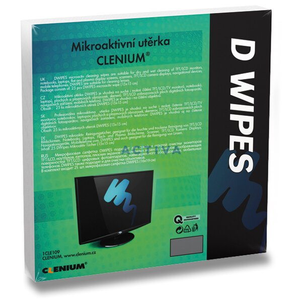 9cbefa87d19 Obrázek produktu Clenium D-Wipes - microfiber cleaning cloth