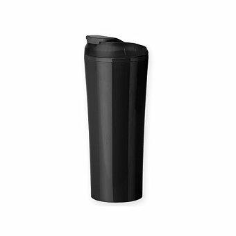 Obrázek produktu ANDRE - plastový termohrnek s dvojitou stěnou, 450 ml, výběr barev