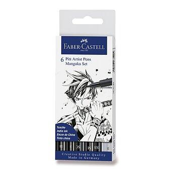 Obrázek produktu Popisovač Faber-Castell Pitt Artist Pen Manga - 6 kusů, Mangaka