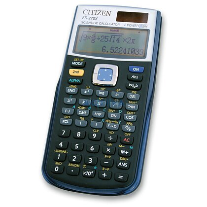 Obrázek produktu Citizen SR-270X - vědecký kalkulátor - černý