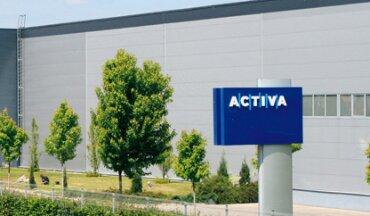 Sídlo společnosti ACTIVA