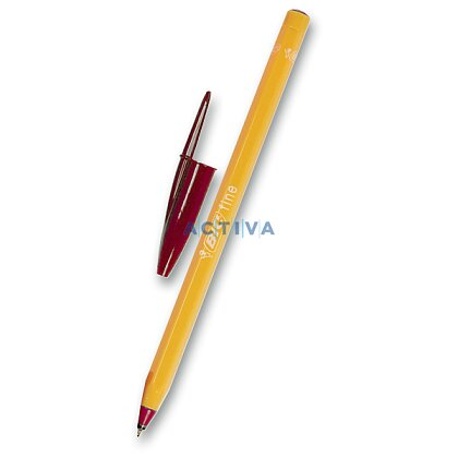 Obrázek produktu BIC Orange - jednorázová kuličková tužka - červená