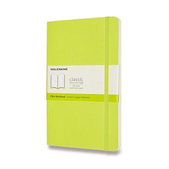 Obrázek produktu Zápisník Moleskine - měkké desky - L, čistý, limetka