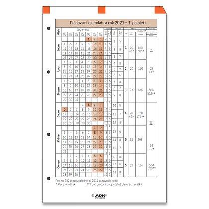 Obrázek produktu ADK - plánovací kalendář 2022 – A5