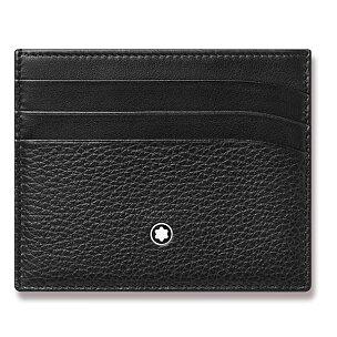 Pouzdro na kreditní karty Montblanc Soft Grain