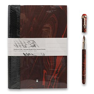 Montblanc Heritage Rouge & Noir Serpent Marble