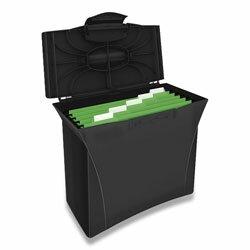 Esselte Vivida - krabice na závěsné desky - černá | ACTIVA