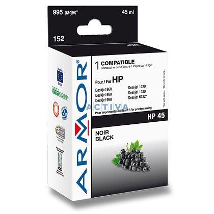 Obrázek produktu Armor - cartridge 51645A, black (černá) pro inkoustové tiskárny
