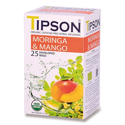 Obrázek produktu Tipson - bylinný čaj - BIO Moringa & Mango
