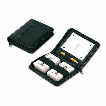 Obrázek produktu JOKER - sada hracích karet s tužkou a bločkem v pouzdře, černá