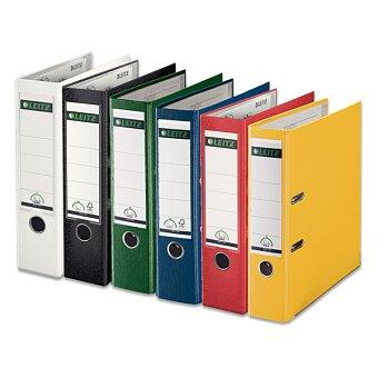 Obrázek produktu Pákový pořadač Leitz - plast, A4, 80 mm, výběr barev